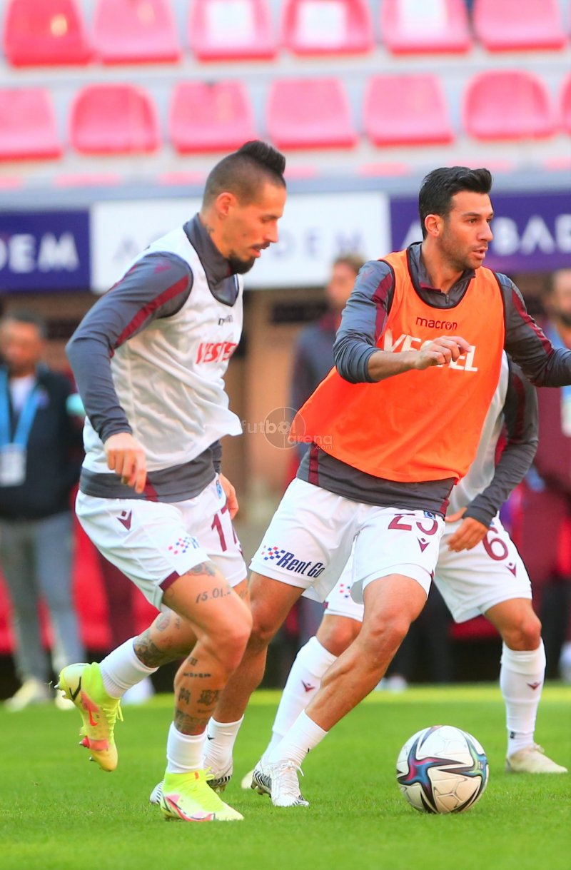 FutbolArena Kayserispor - Trabzonspor maçında