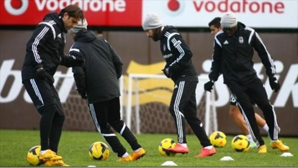 Beşiktaş'ta futbolcular 8 gün izinli