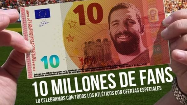 Atletico'dan Arda Turan'lı kampanya