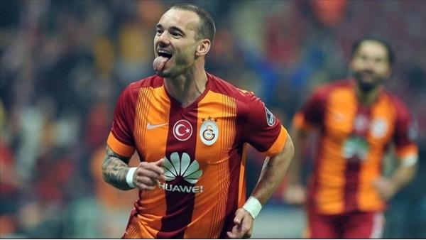 Galatasaray'ın en büyük kozu Sneijder