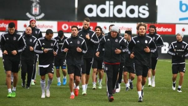Beşiktaş, Mersin İdmanyurdu maçına hazır