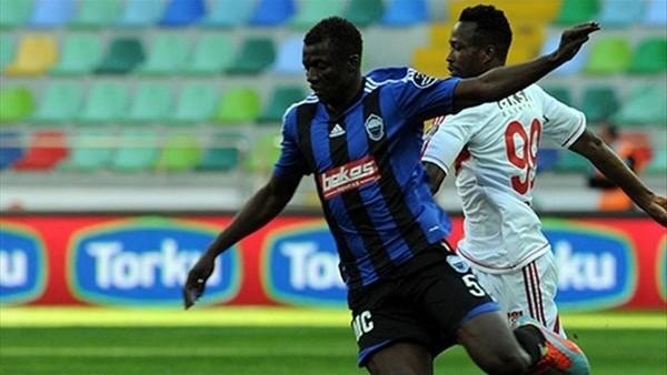 Kayseri Erciyesspor'da Mangane'nin sözleşmesi donduruldu