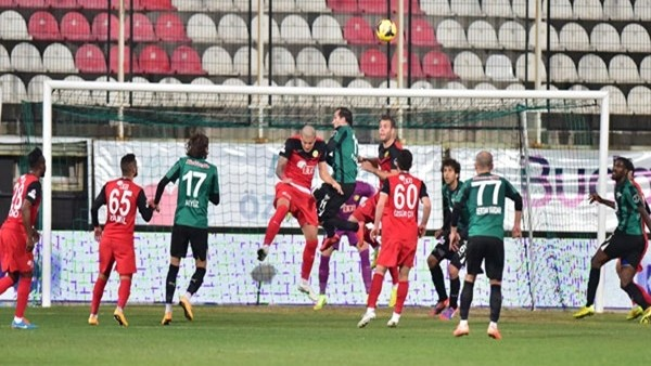 Akhisarspor ile Eskişehir yenişemedi