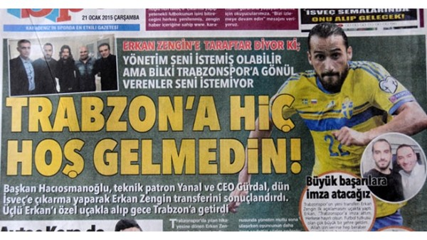 Trabzon'u ikiye bölen transfer!