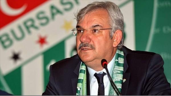 Bursaspor Başkanından Serdar Aziz açıklaması!