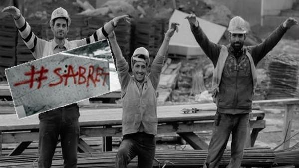 Vodafone Arena çalışanlarından 'sabret' mesajı