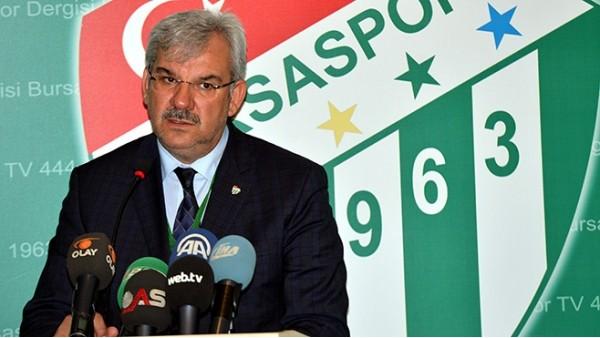 Recep Bölükbaşı: 'Bursaspor'da satılık futbolcu yok'