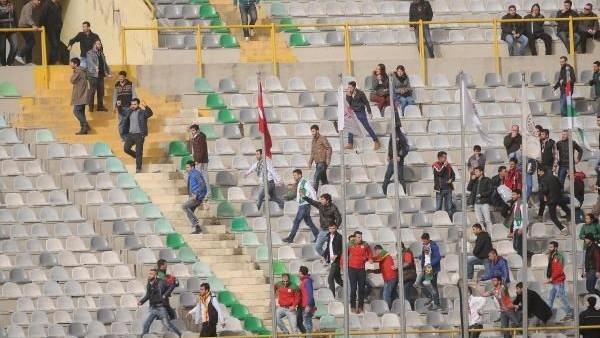 2.Lig maçında PKK gerginliği!