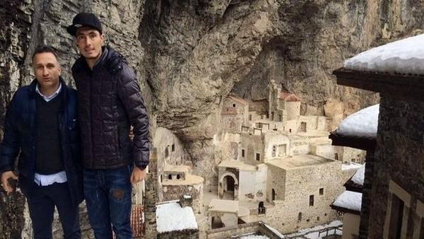 Oscar Cardozo, Sümela Manastırı'nı gezdi