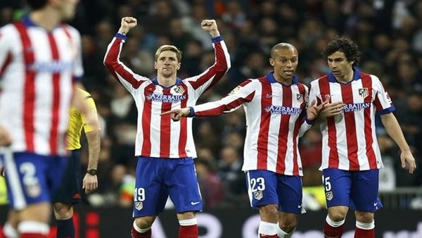 Atletico Madrid kupada Real Madrid'i saf dışı bıraktı