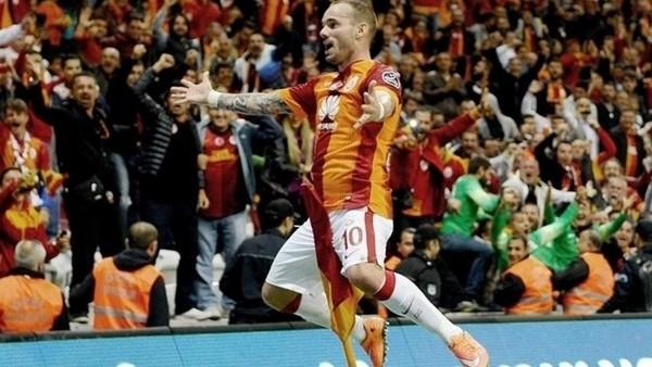 Rize karşısında gizli golcü Sneijder