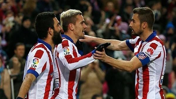 Atletico Madrid 3 puanı 3 golle aldı!