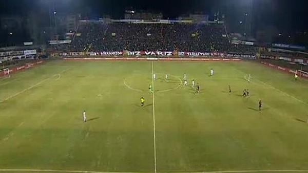 Eskişehir-Galatasaray maçında tribünler doldu