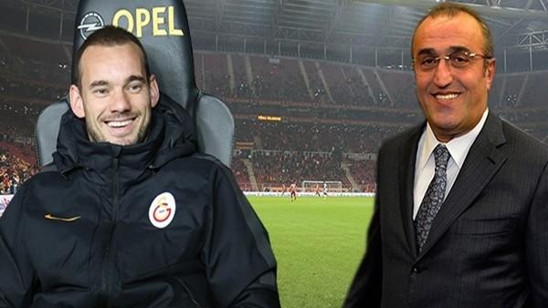 Abdurrahim Albayrak, Sneijder için net konuştu!