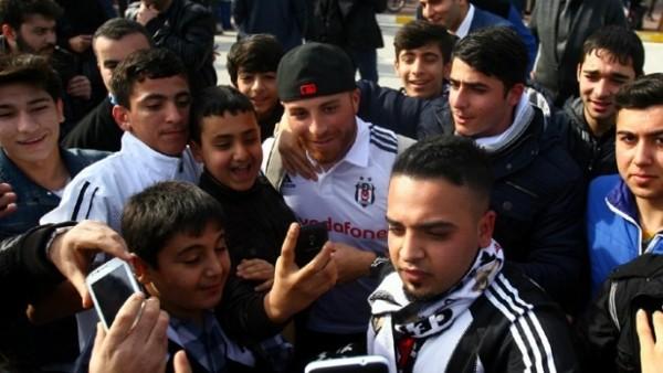 Beşiktaş kupa maçı için Adana'da