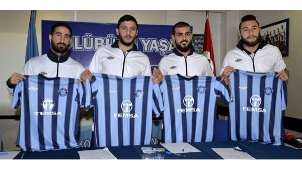 Adana Demirspor'dan imza şov