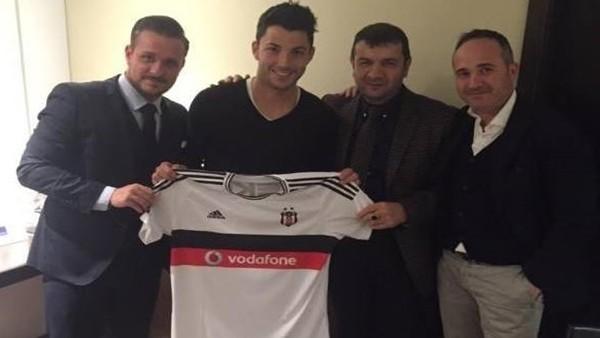 Tolgay Arslan resmen Beşiktaş'ta