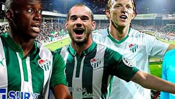 Bursaspor'dan 4 büyüklere kapak transferler