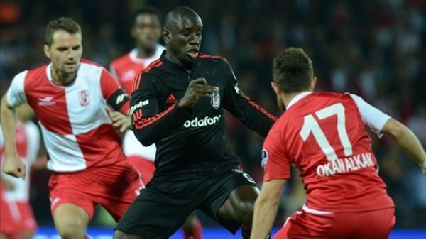 İlk yarı beraberliği Beşiktaş'ı zorluyor