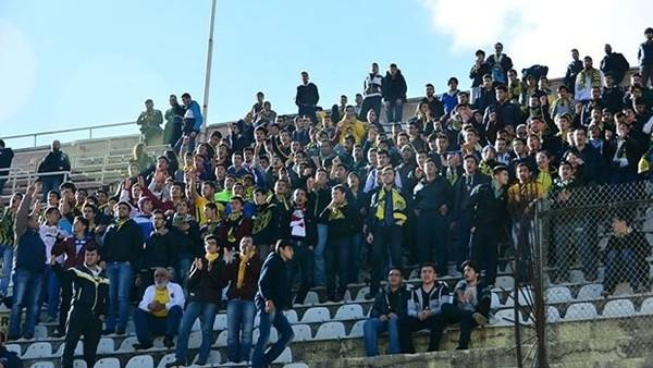 Cizrespor maçı öncesi taraftarlar ile emniyet güçleri arasında gerginlik