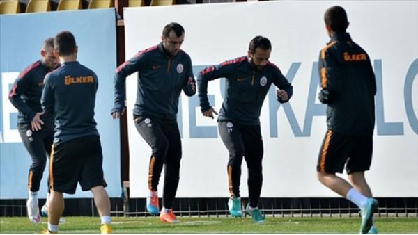 Galatasaray'da Çaykur Rizespor mesaisi