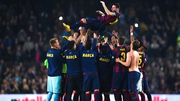 Barcelona'dan Messi'ye özel tören