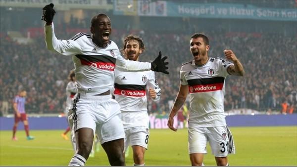 Beşiktaş'tan dış sahadaki 8. galibiyet
