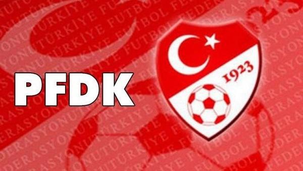 PFDK yine acımadı! İşte o kulüpler...