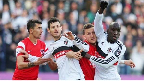 Beşiktaş, Mersin İdman Yurdu'nu seviyor