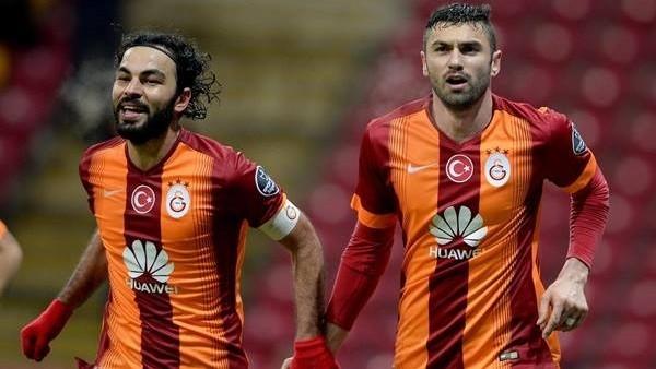 Galatasaray en çok isabetli şutu bu maçta çekti