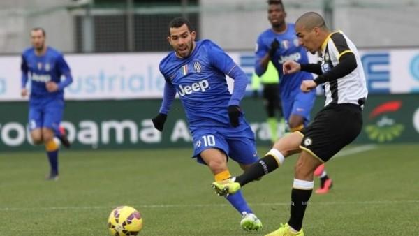 Juventus deplasmanda tekledi