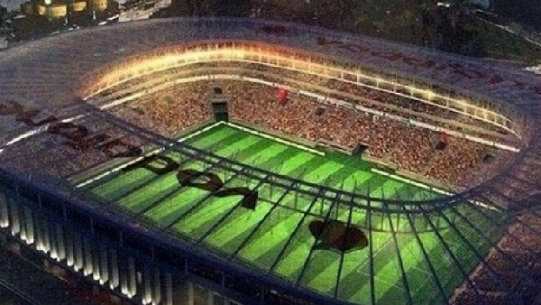 Beşiktaş'ın Vodafone Arena planı