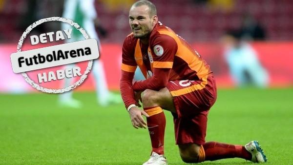 Manchester United, Wesley Sneijder'in peşinde!