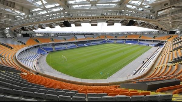 Başakşehir'in stadına özel bakım