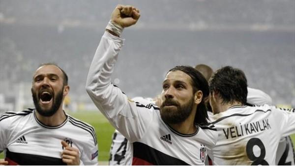 Avrupa Ligi'nde son 16'ya penaltılarla geçen tek takım Beşiktaş oldu