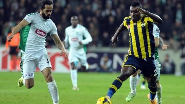 Konyaspor ile Fenerbahçe ilk kez berabere kaldılar
