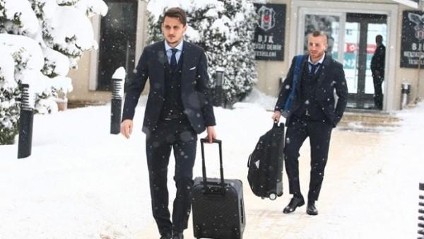 Beşiktaş, İngiltere'ye uçtu