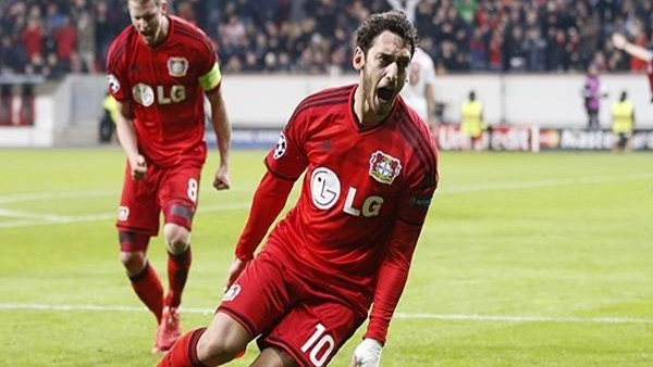 Bayer Leverkusen, Atletico Madrid'i 1-0 mağlup etti