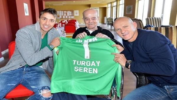 Muslera ve Taffarel'den Turgay Şeren'e ziyaret