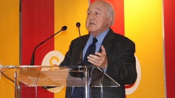 Galatasaray Başkanı Duygun Yarsuvat, Divan Kurulu toplantısında konuştu