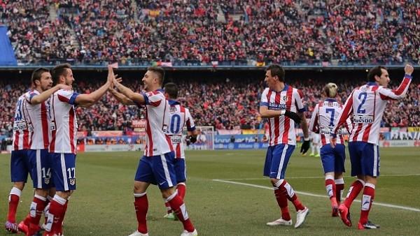 Atletico Madrid, Real Madrid'i derbide ezdi!