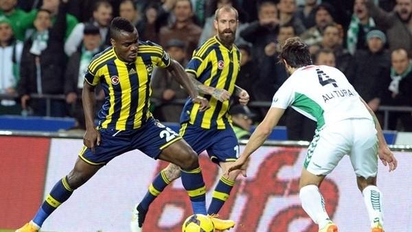 Fenerbahçe deplasmanda Torku Konyaspor ile 1-1 berabere kaldı