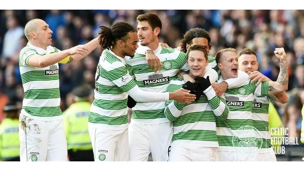 Tarihi derbide kazanan Celtic oldu