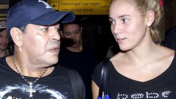 Maradona, kız arkadaşı için servet harcadı