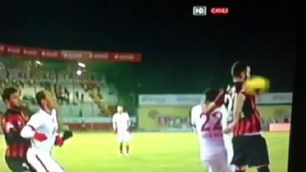 Galatasaray'ın penaltı isyanı! İşte o anlar