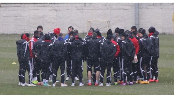Karabükspor maç kampına girdi
