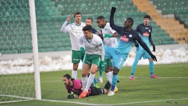 Bursaspor ile Çaykur Rizespor yenişemedi