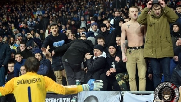 Dinamo Kiev'e, Guingamp maçındaki olaylar nedeniyle soruşturma açıldı