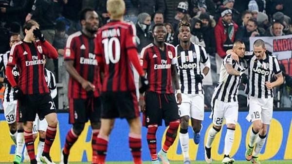 Juventus, Milan'ı 3-1 yendi