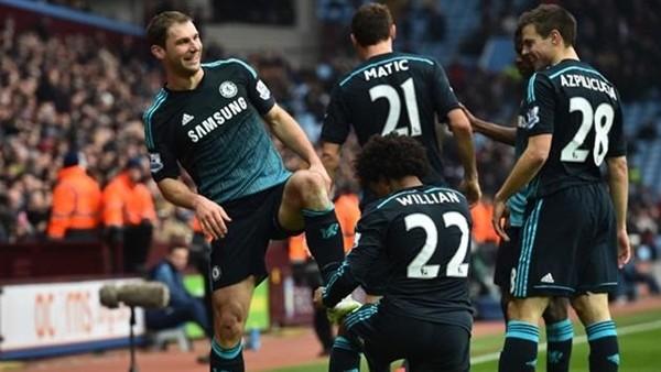 Chelsea deplasmanda Aston Villa'yı 2-1 yendi